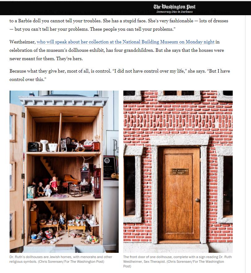 Washington Post Dollhouse  Screenshot